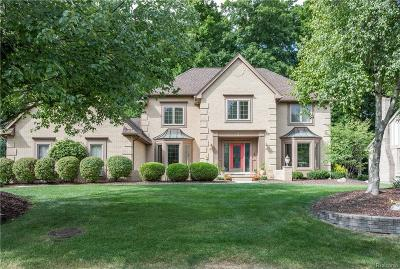 Troy Single Family Home For Sale: 1700 Rolling Woods Dr