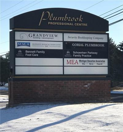 Commercial Lease For Lease: 13927 Plumbrook Road