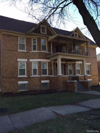 Detroit Multi Family Home For Sale: 827 Blaine St