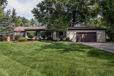 Farmington Hills Single Family Home For Sale: 31766 Alameda St