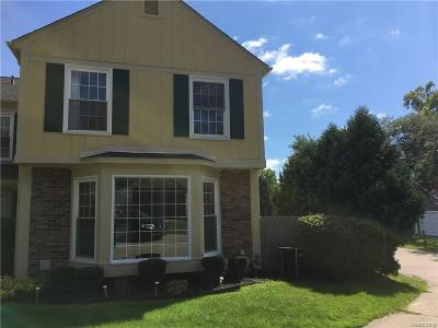 Rochester Condo/Townhouse For Sale: 1428 Crescent Ln