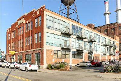 Detroit Condo/Townhouse For Sale: 55 W Canfield St