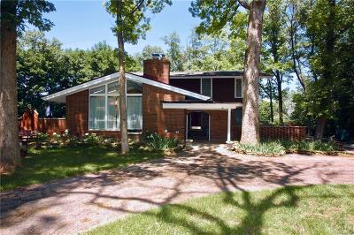 Troy Single Family Home For Sale: 2840 Tewksbury Dr