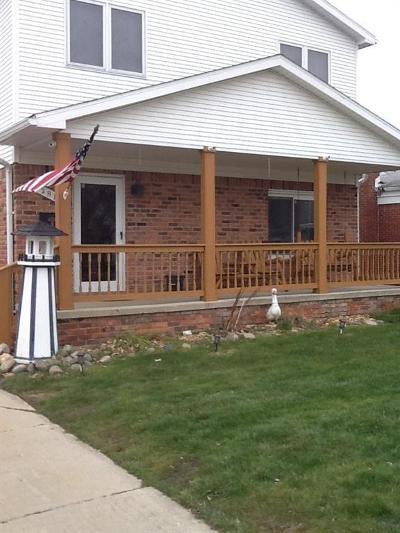Saint Clair Shores Single Family Home For Sale: 22810 Arcadia St