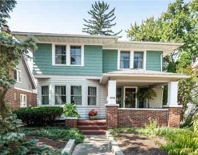 Royal Oak Single Family Home For Sale: 1012 S Lafayette Ave