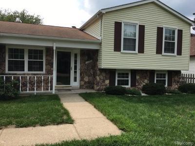 Plymouth Single Family Home For Sale: 40145 Ann Arbor Trl