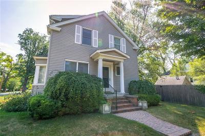 Birmingham Single Family Home For Sale: 691 Oak Ave