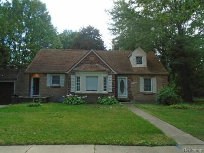 Harper Woods Single Family Home For Sale: 20446 Old Homestead Dr