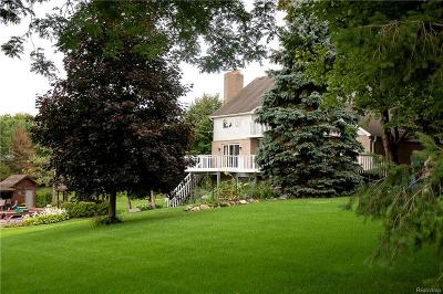 Lapeer Single Family Home For Sale: 3628 Woodland Dr