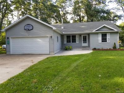 Goodells Single Family Home For Sale: 7644 Kitchen Rd