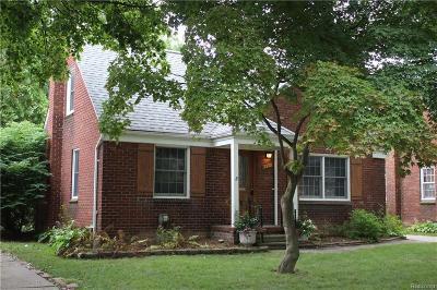 Royal Oak Single Family Home For Sale: 1512 N Pleasant St