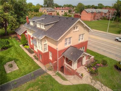Detroit Single Family Home For Sale: 22 Edison St