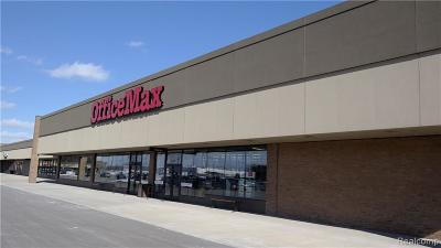 Commercial Lease For Lease: 37804 Van Dyke