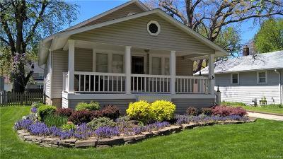 Royal Oak Single Family Home For Sale: 1202 Etowah Ave