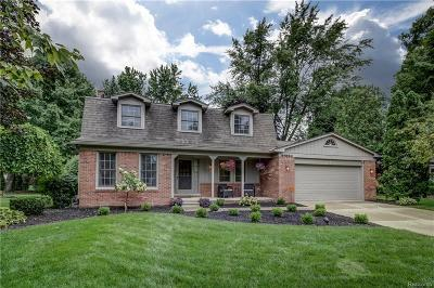 Northville Single Family Home For Sale: 41624 Rayburn Dr