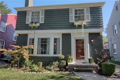 Grosse Pointe Farms Single Family Home Pending: 430 Lothrop Rd