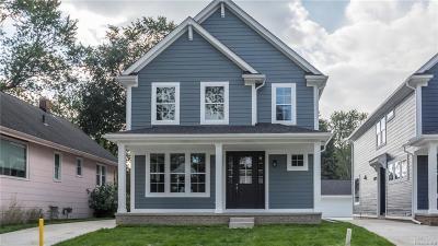 Royal Oak Single Family Home For Sale: 1823 N Center St