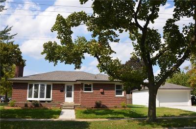 Trenton Single Family Home For Sale: 3371 Edsel St