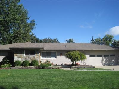 Northville Single Family Home For Sale: 41124 Stoneleigh St