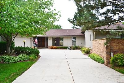 Bloomfield Hills Condo/Townhouse For Sale: 4138 Golf Ridge Dr E