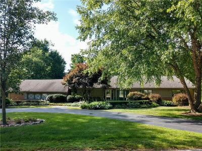 Bloomfield Hills Single Family Home For Sale: 4155 Valley Forge Rd