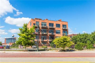 Detroit Condo/Townhouse For Sale: 2003 Brooklyn St