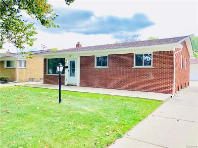 Dearborn Single Family Home For Sale: 6229 Fairwood Dr