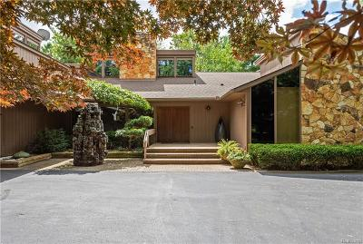 Bloomfield Hills Single Family Home For Sale: 1265 Club Dr