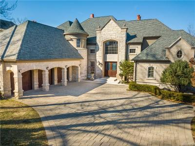 Bloomfield Hills Single Family Home For Sale: 2741 Turtle Lake Dr