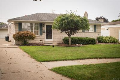 Sterling Heights Single Family Home For Sale: 12216 Corvair Dr