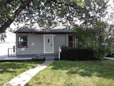 Taylor Single Family Home For Sale: 7119 Jackson St