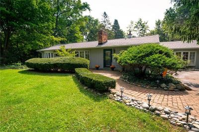 Bloomfield Hills Single Family Home For Sale: 662 Wattles Rd