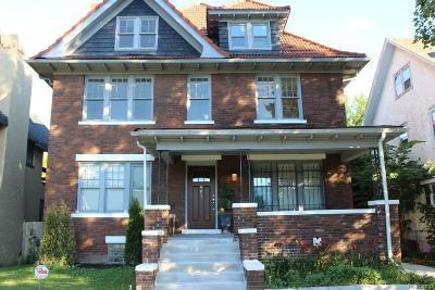 Detroit Single Family Home For Sale: 901 Chicago Blvd