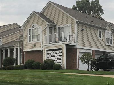 Sterling Heights Condo/Townhouse For Sale: 44935 Marigold Dr