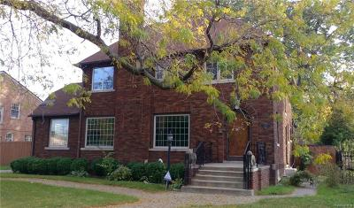 Grosse Pointe Park Single Family Home For Sale: 1430 Devonshire Rd N