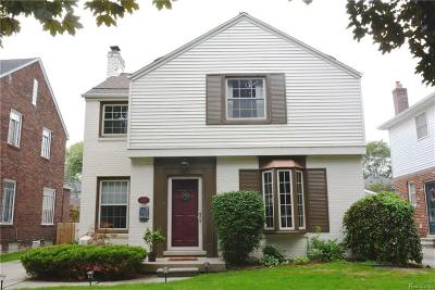 Grosse Pointe Farms Single Family Home For Sale: 429 McKinley Ave