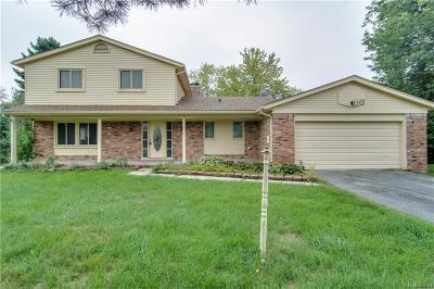 West Bloomfield Single Family Home For Sale: 4175 Pinehurst Dr