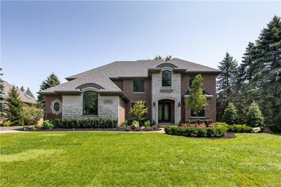 Bloomfield Hills Single Family Home For Sale: 3290 Baron Dr