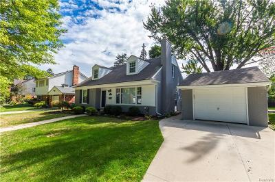 Royal Oak Single Family Home For Sale: 3019 Bamlet Rd