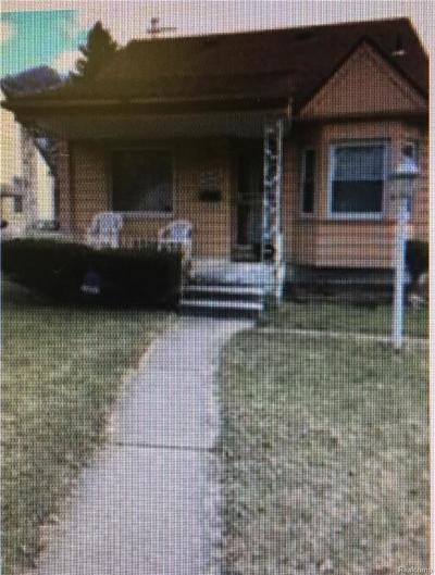 Detroit Single Family Home For Sale: 12164 Wayburn St