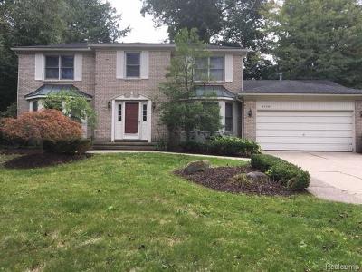 Farmington Hills Single Family Home For Sale: 37581 Emerald Forest Dr