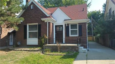 Detroit Single Family Home For Sale: 12359 E Outer Dr