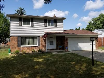 Livonia Single Family Home For Sale: 14193 Hubbell St
