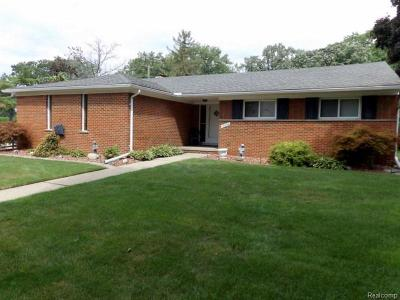 Allen Park Single Family Home For Sale: 17324 Midway Ave