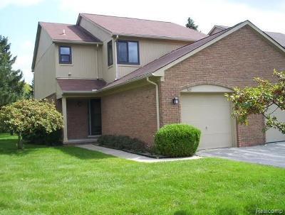 Rochester Hills Condo/Townhouse For Sale: 563 Tennyson