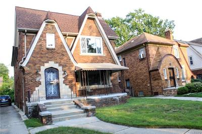 Detroit Multi Family Home For Sale: 14376 Mansfield St