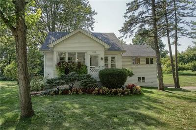West Bloomfield Single Family Home For Sale: 5808 Putnam Dr