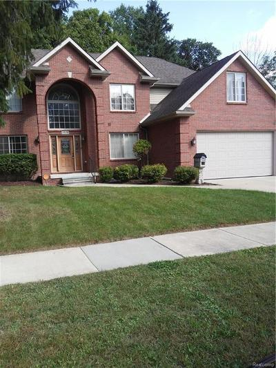 Farmington Hills Single Family Home For Sale: 23136 Haynes St