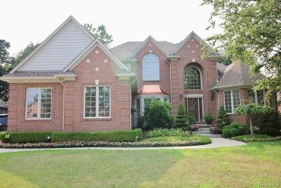 Shelby Twp Single Family Home For Sale: 54587 Woodcreek Blvd
