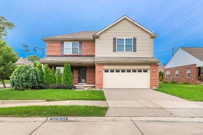 Detroit Single Family Home For Sale: 10901 Edlie Cir